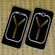 B1302 Flux Capacitor Fluxing Transparent PC Hard Case Cover For Samsung Galaxy J 3 5 7 A 3 5 7 8 9 2016 GRAND 2 PRIME