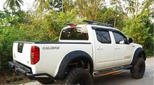 High Quality! Car styling ABS Painting Fender Flare For NISSAN FRONTIER NAVARA D40 2005-2014