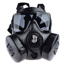 Tactical Skull Masks High Quality Mask Generic Tactical Wargame Paintball Full Face Skull Gas Mask with Fan