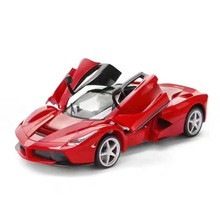 Alloy car  ferrari 1:16 roadster model simulation remote control toy vehicle can open toy car warrior brinquedos menino