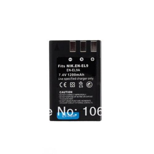 1200mAh EN-EL9 EN-EL9A D3000 D3X Compatible Battery for NikonD40 D40x D60 D5000<br><br>Aliexpress