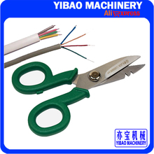 LA813406 Stainless Steel Multifunctional Scissors Electrician Scissors Cable Stripping Knife Electric Knife