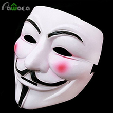 Cosplay Mask V For Vendetta Mask Movie Guy Fawkes Anonymous Fancy Costume Halloween Masquerade Party Full Face Costume Ball Mask