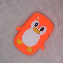 For Blackberry Curve 8520 8530 9300 9330 BB8520 Bags Hot Luxury 3D Cute Cartoon Penguin Duck Soft Silicon Back Cover Phone Case