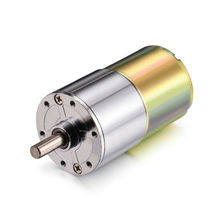 24V DC Motor 20/30/50/60/100/200/1000RPM Micro Gear Motor Box 37mm Speed Reduction Electric Gearbox Central Shaft High Torque