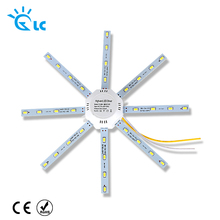 LED Light Board 220v LED Lamp Board LEDs Celling Lamp 5730SMD 12W 16W 20W 24W  White Octopus Round Kitchen Bedroom Light