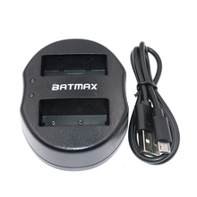 USB Dual Battery Charger for Fujifilm NP-W126 NP W126 NPW126 Camera Battery HS30EXR HS33EXR X PRO1