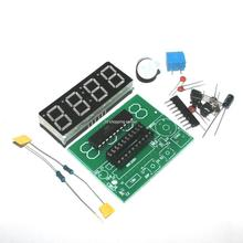 Free shipping High Quality C51 4 Bits Electronic Clock Electronic Production Suite DIY Kits c51 electronic clock