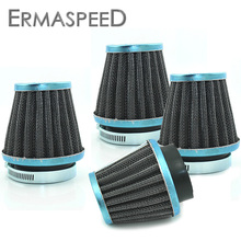 4pcs Motorcycle Air Filter 35mm 39mm 48mm 50mm 52mm 54mm 60mm Universal Clamp On Air Cleaner Filter System for ATV Honda Ducati