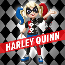 Original Funko Pop Rock Candy Cosplay Harley Quinn Vinyl Figure for Fans Holiday Gift and Car Decration(China)