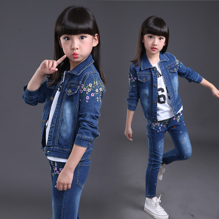 Fashion girls fall boutique sets two pieces sport teenager girls clothing sets 2017 autumn children<br>