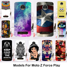 TAOYUNXI Hard Plastic Phone Case For Motorola Moto Z Force Droid Edition Verizon Vector maxx Z Play XT1635 2016 Cover shell skin