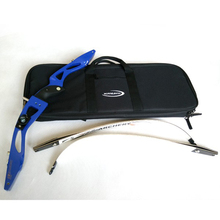 High Quality Easy Carrying Bow Case For Recurve Bow Archery Recurve Bag Inner Soft Plush Fabric Outdoor Sport Blue Black
