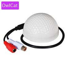 OwlCat CCTV Video Surveillance Security Camera IP Cameras Sound Monitor Audio Pickup Microphone