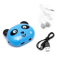 Panda USB Mini MP3 Player + Earphone Support 32GB Micro SD TF Card Music Media