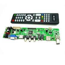 V56 MV56RUUL-Z1 Universal LCD TV Controller Driver Board TV/PC/VGA/HDMI/USB Interface USB play Multi-Media Interface(China)