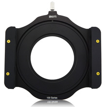 "JUST NOW SIOTI 100mm Square Z series Metal Filter Holder+Adapter Ring for Lee Hitech Singh-Ray Cokin Z PRO 4X4""4x5""4X5.65""Filter"