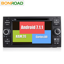 RK3188 Android 7.1.1 7 Inch Car Radio For Focus1 2005 2006 2007 Galaxy Transit Quad Core Wifi GPS Navigation FM RDS BT 4G Wifi(China)