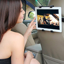 Car Back Seat Headrest Mount Holder For iPad 2 3/4 Air 5 Air 6 Tablet SAMSUNG Tablet PC Stand For ipad Mini Holder(China)