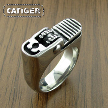 Punk  316L Stainless Steel Cigaret Lighter Ring Gas Cigarette Lighter, Fire Lighter Ring