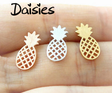 Daisies One Piece New Fashion Cute Pineapple Earring For Women Stud Earrings Girl Gift