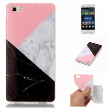 Capa New Unique Design Fashion Marble Skin Phone Cases For Huawei P8 Lite Coque P9 Lite Soft Silicone TPU Coque Phone Bags Cover(China)