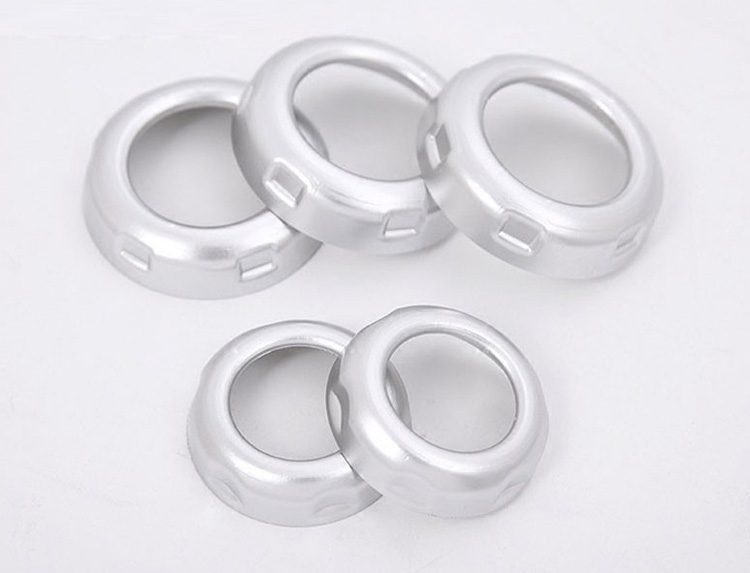 Chrome Car Volume and Air Condition Knob Cover Trim For Range Rover ...