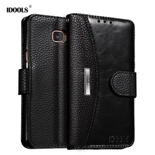 IDOOLS Case For Samsung Galaxy A5 2017 A5200 5.2 Inch Luxury PU Leather Phone Bags Cases for Samsung A3 2017 A3200 4.7 Inch Capa