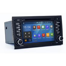 7 Inch Android 5.1.1 Lollipop  for Audi A4 S4 RS4 2002-2008 Car DVD stereo radio WIFI BTsupport OBD review camera