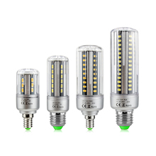 1Pcs Super Long Service time 12W LED lamp 5736 Aluminum Cooling Corn Bulb E27 E14 AC 110V - 220V No Flicker light For lighting(China)