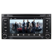 Cortex A9 Quad Core 1.6GHz 7'' HD 1024*600 Android 5.1 Car DVD Player GPS Satnav For 2002-2010  VW Touareg with Free Map