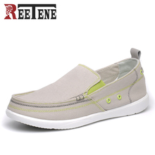 Summer Canvas Shoes Men, Ultralight Breathable Casual Men Shoes ,High quality Comfortable Loafers Lazy Driving Shoes