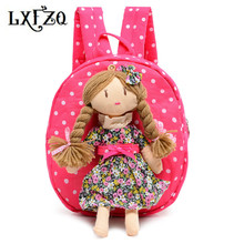 children Canvas knapsack Cartoon Princess School Bags Girls Kindergarten Backpack Baby Bag backpack kids school bags for girls(China)