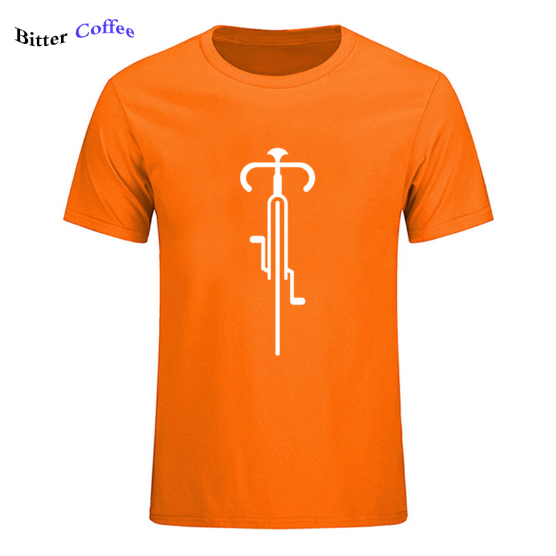 Bike Lines Cycling Novelty Creative Mens Men T Shirt Tshirt 2019 New Short Sleeve O Neck Cotton Casual T-shirt Top Tee