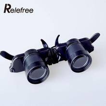 Fishing Telescope Optic Glasses Eyewear Style Opera Theater Binoculars Match Double Eye Glasses Lens Measurement Magnifier Tools(China)