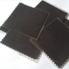 Top Quality Superfine Fiber Double Pile Black Silver Jewelry Polishing Cloth & Cleaning Clothes Wholesale 100pcs/Lots
