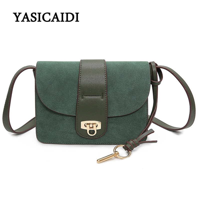 Summer Small Crossbody Bags for Women Small Vintage Green Hasp Flap Bag Famous Brand Female Scrub Pu Leather Messenger Bags<br><br>Aliexpress