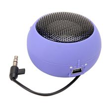 EDAL Portable Mini Hamburger Top Sell Speaker Amplifier For iPod iPad Laptop for iPhone Tablet(China)