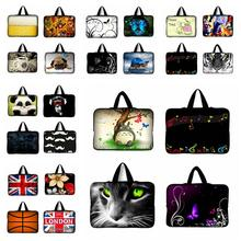 7 9.7 12 13 15 17 inch Tablet Sleeve Notebook Case Mini PC Laptop Bag 11.6 13.3 15.4 15.6 Computer Handbag Soft Protector Cover(China)
