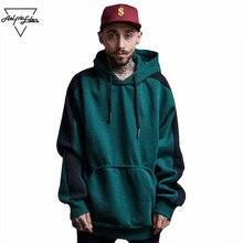 Aelfric Eden Casual Sweatshirt Men Hoodies Sweatshirts Kangaroo Pocket Big Pockets Hoodie Man Hit Color Hip Hop Sportswear F347