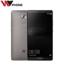 "Original Huawei Mate 8 4G LTE Mobile Phone Kirin 950 Octa Core 3/4G RAM 32/64G ROM 6.0""Android 6.0 Fingerprint ID SmartPhone(China)"