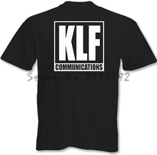 KLF Communications - Mens Album T-Shirt 90's Rave Acid House men's top tees(China)