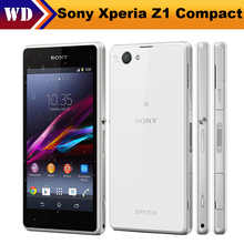 "D5503 Original Sony Xperia Z1 Compact D5503 Z1 MINI Unlocked Smartphone 3G&4G Android Quad-Core 4.3"" WIFI GPS"