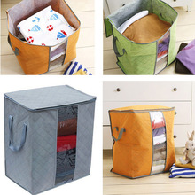 2017 Hot Sale Quality Bamboo Charcoal Fabric No-snell Clothing Dust Proof Storage Bag