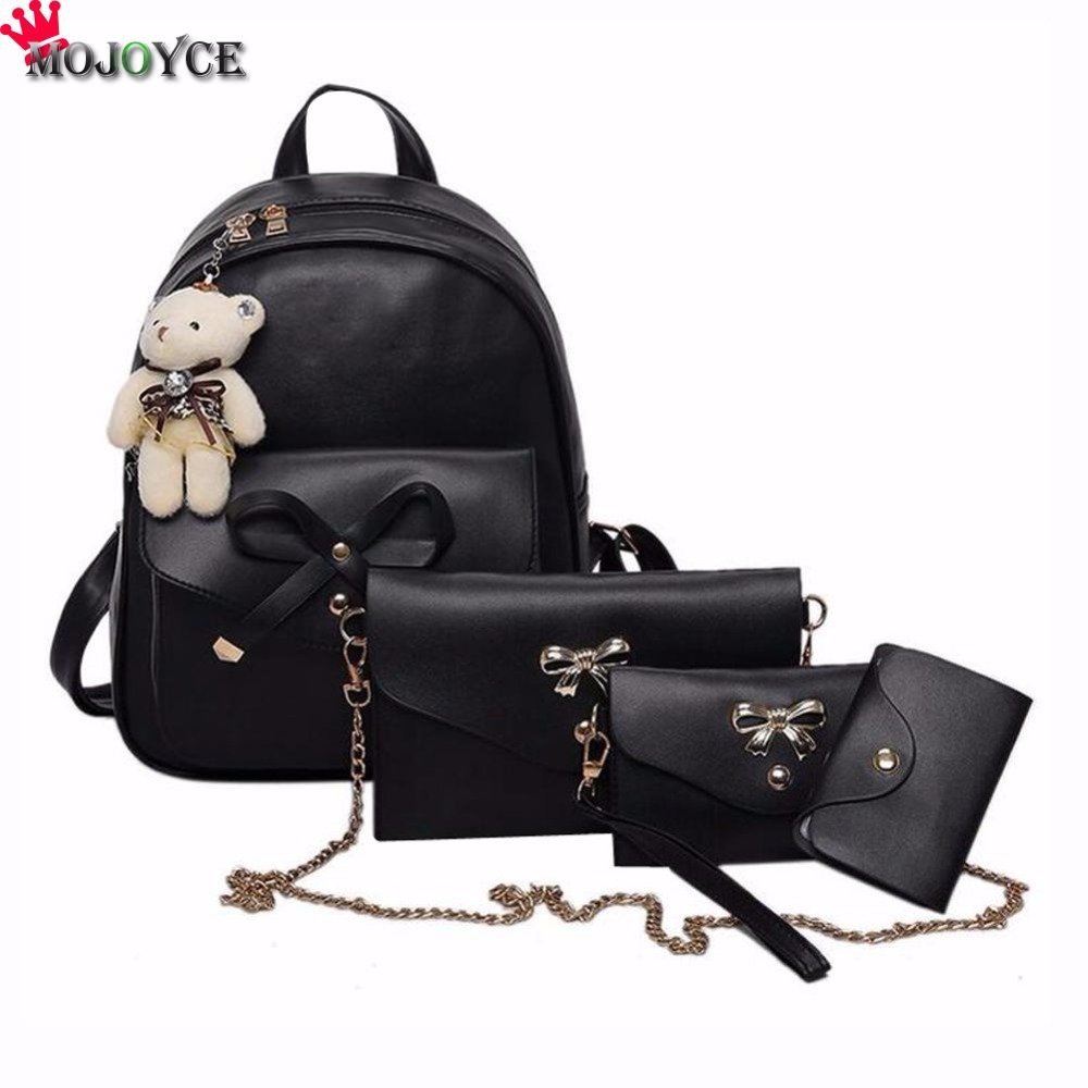 PU Leather Shoulder Bag,Holidays Christmas Gifts Backpack,Portable Travel School Rucksack,Satchel with Top Handle