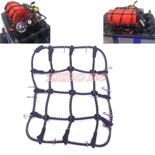 1/10 Scale RC Crawler Car Accessories Luggage Roof Rack Bungee Net For SCX10 Jeep Wrangler CC01 TF2(China)