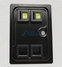 Dual american style coin selector door with microswitch for Amusement arcade casino slot game cabinet Coin operator machine part