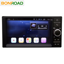 "7"" 2Din 1024*600 Android 6.0 Car Tap PC Tablet  2 din Universal  For Toyota GPS Navigation BT Radio Stereo Audio Player(No DVD)"