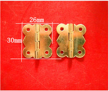 30 * 26MM kitchen cabinet hinges Butterfly Antique furniture hinge hardware lace wooden box hinge 90 degrees Wholesale