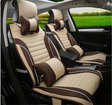 New Car Luxury  Seat Cushion Universal Complete Set Four Seasons for All 5 Seats Car Toyota Mazda Buick Audi FORD CADILLAC